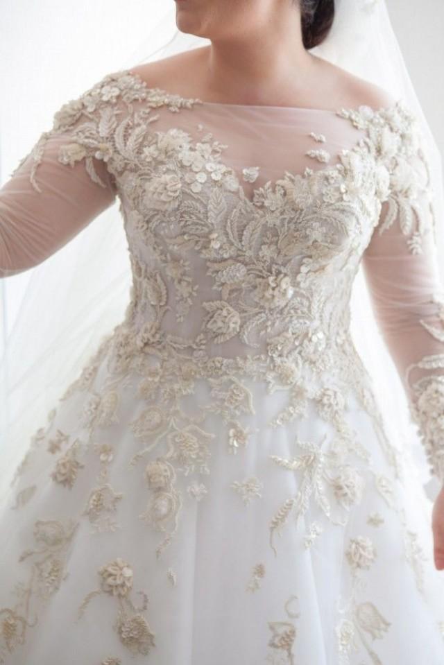 wedding photo - Plus Size Wedding Dresses