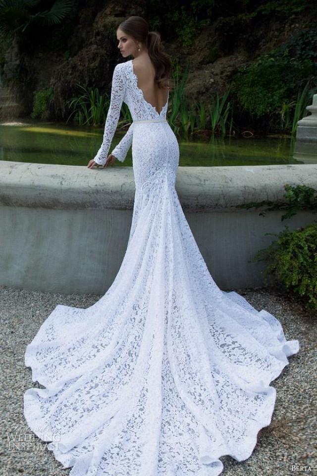 wedding photo - Details About Elegant Lace Mermaid White Ivory Wedding Dress Custom 2-4-6-8-10-12-14-16-18-20