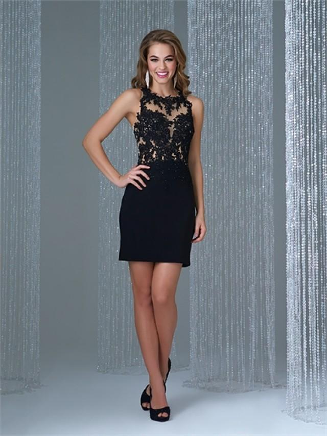 wedding photo - Gorgeous Sheath Bodice with Floral Pattern Lace Prom Dress PD3193