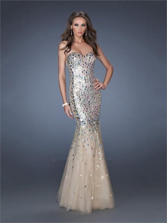 wedding photo - Popular Sweetheart Stones Mermaid Prom Dress PD2488