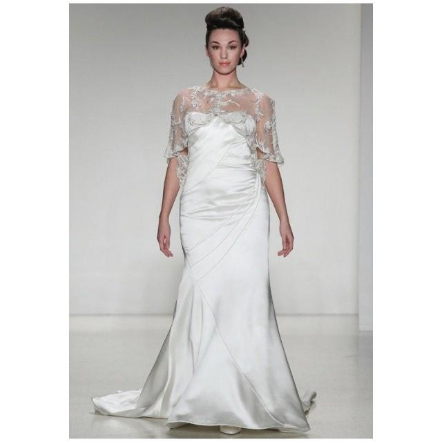 Matthew christopher olivia wedding dress the knot for Wedding dresses the knot