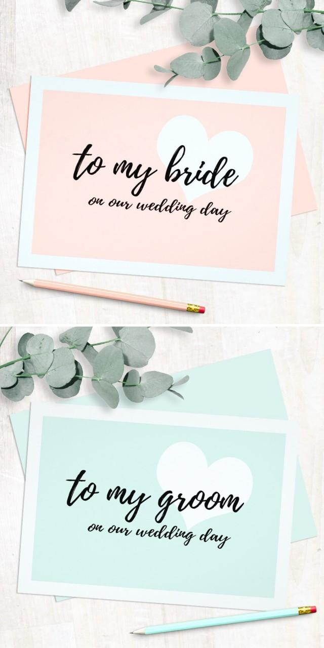 wedding photo - Cute Modern Script Style Wedding Day Cards