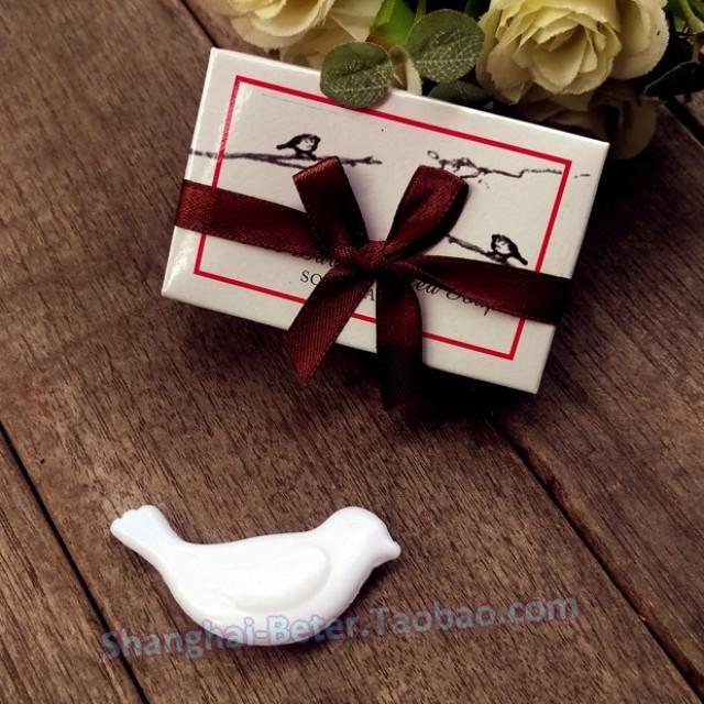 wedding photo - Beter Gifts® 婚禮小物 愛情鴿香皂 滿月禮品誕生生日派對禮品BETER-XZ011答謝小回禮 http://detail.1688.com/offer/521009144337.html