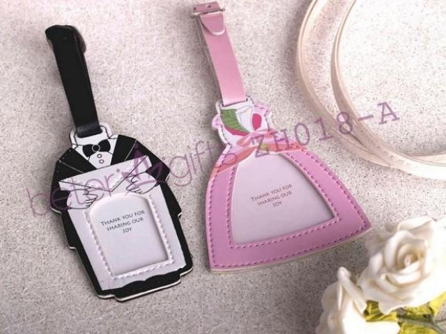 wedding photo - Beter Gifts® 新郎新娘席位卡行李牌歐式回禮BETER-ZH018歐式高端婚禮佈置創意婚慶