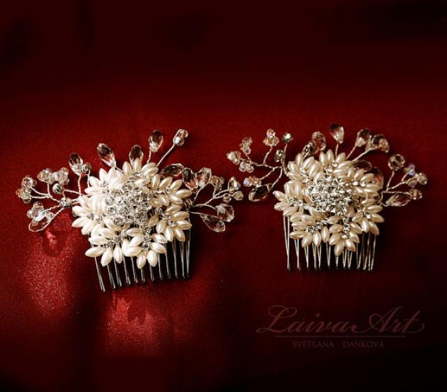 wedding photo - Snowflake Wedding Comb Crystal Rhinestone Snowflake Comb Wedding Comb Bridal Hair Comb Winter Wedding Comb