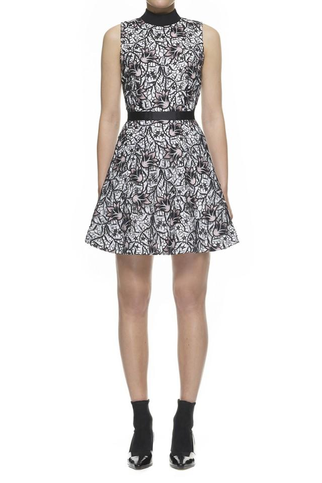 wedding photo - Self-Portrait Nightshade Mini Dress