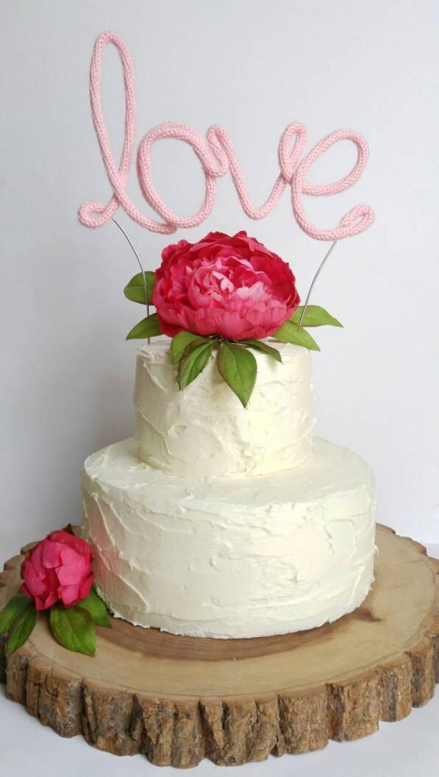 Rustic wedding cake weddbook personalized cake topper wedding cake topper unique cake decorations wedding cake topper wire cake topper handmade cake topper rustic junglespirit Image collections