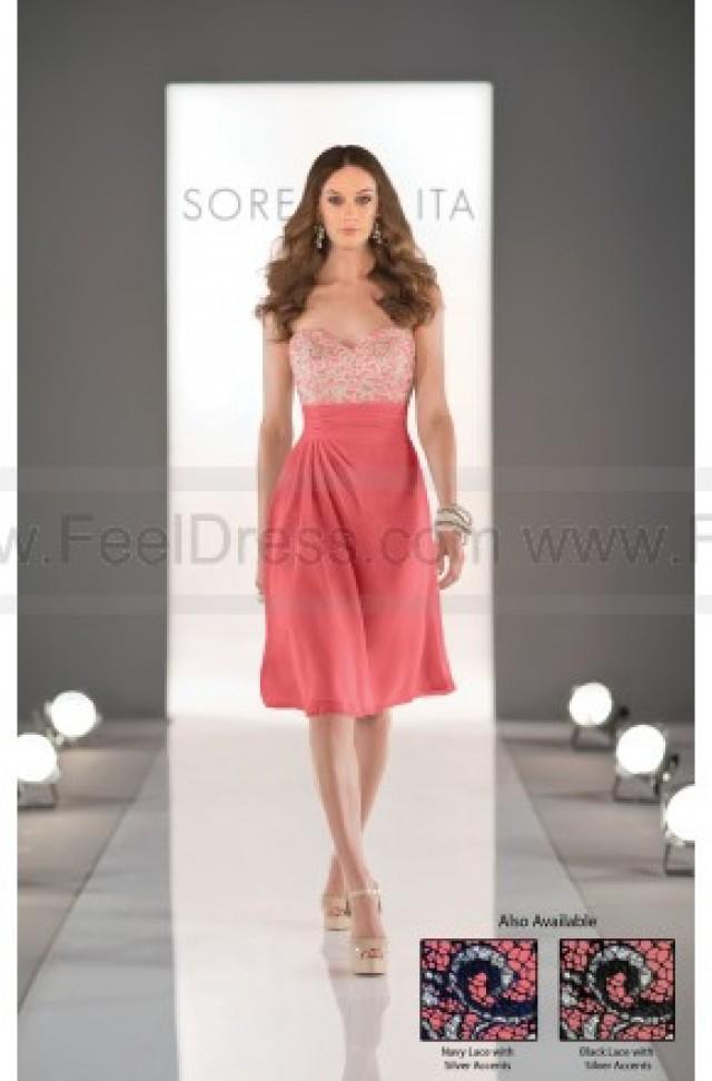 wedding photo - Sorella Vita Coral Bridesmaid Dress Style 8321