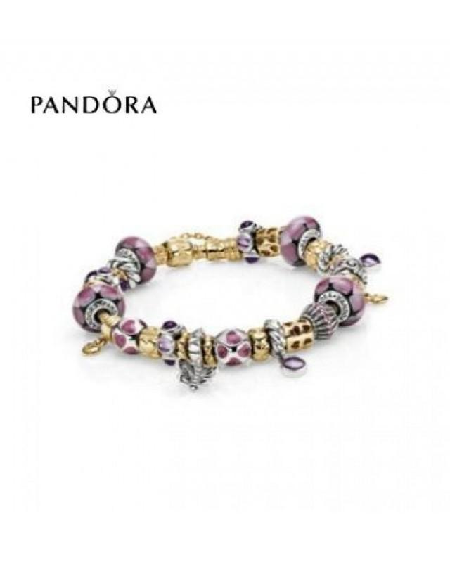 wedding photo - bijoux légendaire - Découvrez Bracelets Pandora Prix * Pandora Lovely In Lilac Inspiration Bracelet