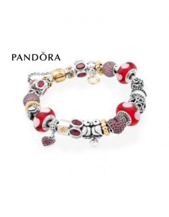 wedding photo - Top achats Bracelets Pandora Prix * Pandora Lovebirds Inspirational Bracelet pandora soldes