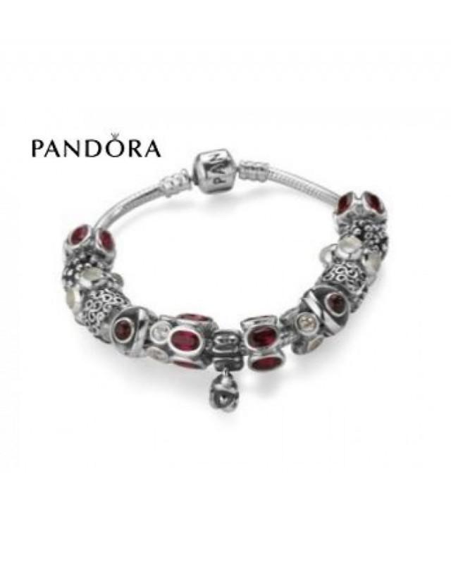wedding photo - Escompte - Bracelets Pandora Prix * Pandora Lady In Rouge Inspiration Bracelet - Foncez Sur charmspandorasoldes.com