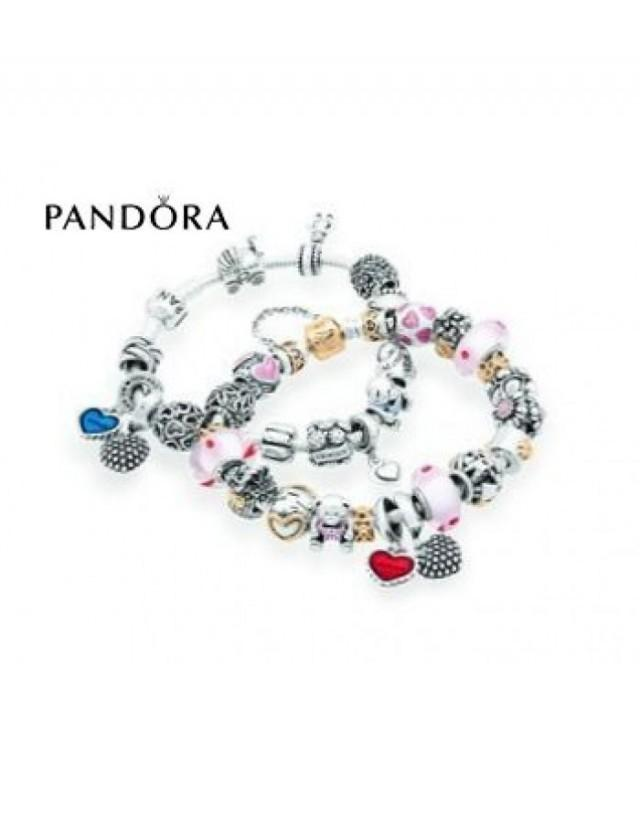wedding photo - Soldes - Bracelets Pandora Prix * Pandora Mother's Day Inspirational Bracelets - Vente France 2016