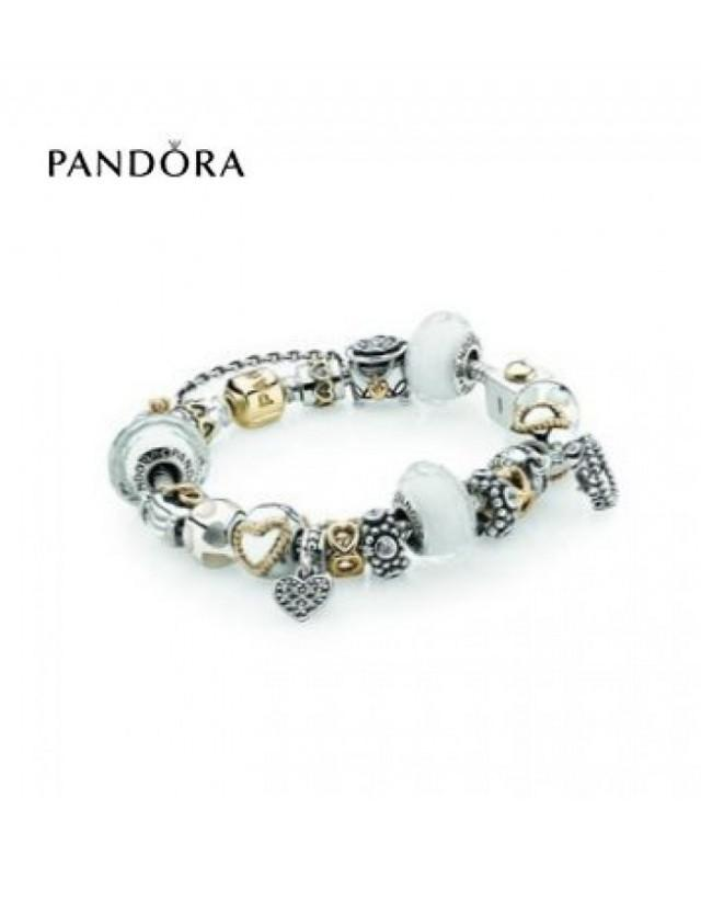 wedding photo - Trouvez Bracelets Pandora Prix * Pandora Royal Romance Inspirational Bracelet