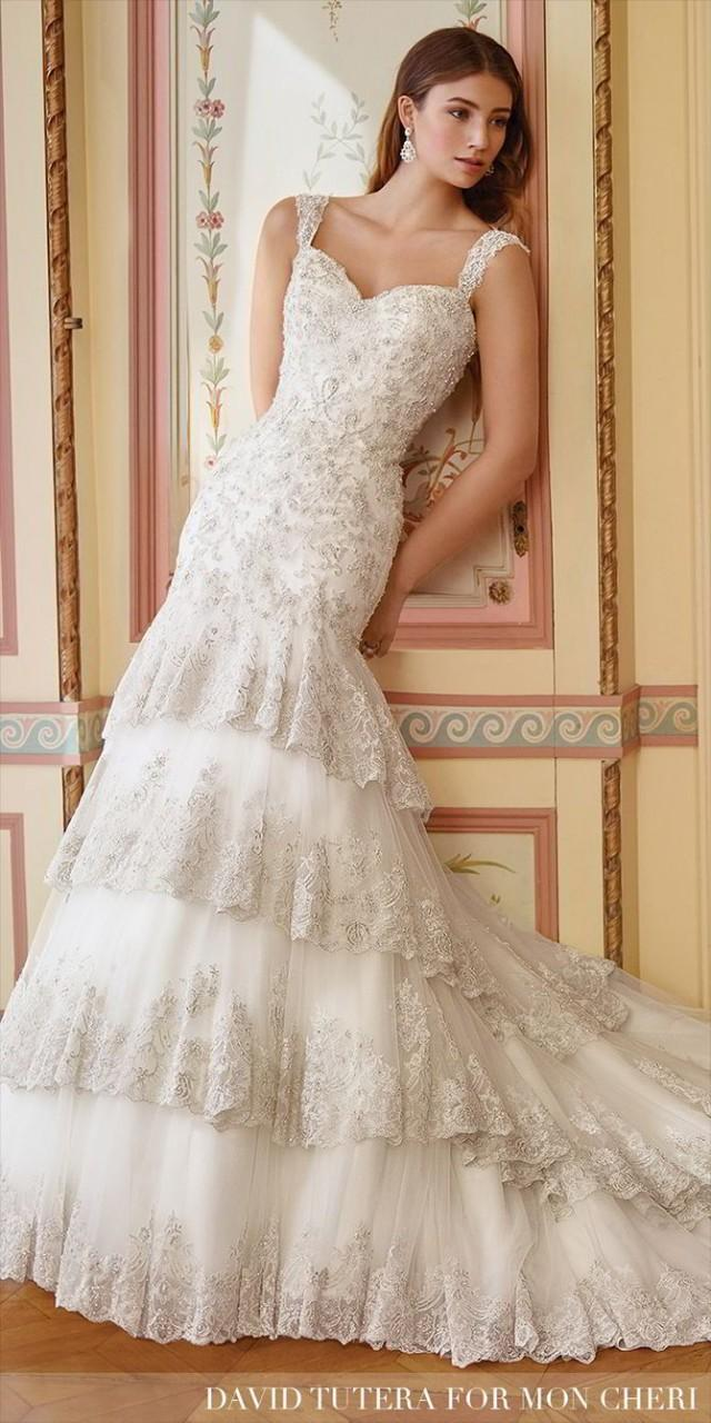 wedding photo - David Tutera for Mon Cheri Spring 2017 Wedding Dresses