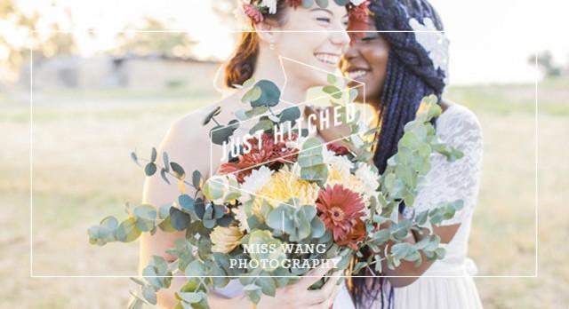 a5a695e0886c Bohemian Flora Wedding Styled Shoot - Wedding Friends - Weddbook