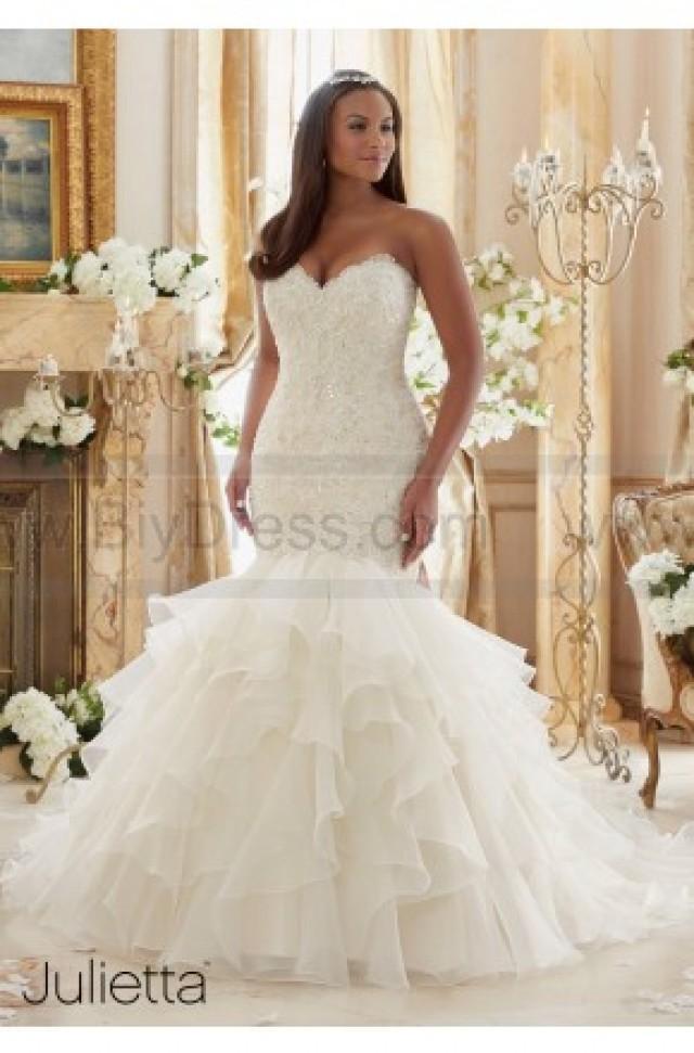 wedding photo - Mori Lee Wedding Dresses Style 3201