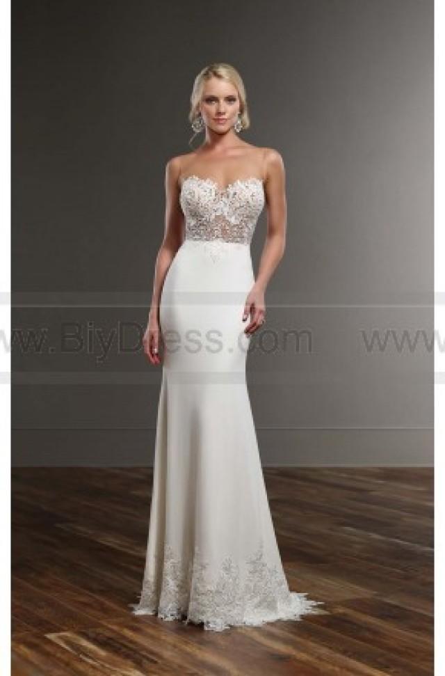 wedding photo - Martina Liana illusion Back Wedding Dress Style 775