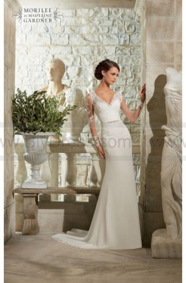 wedding photo - Mori Lee Blu 5306