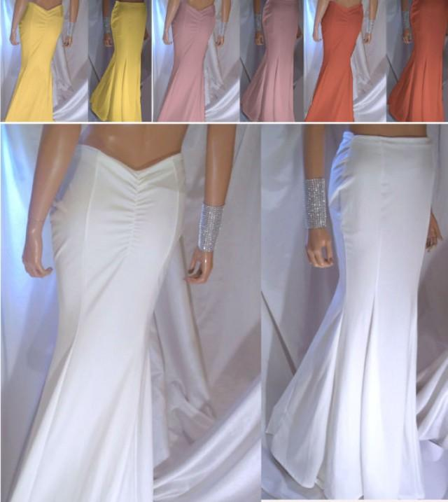 wedding photo - Women's Mermaid Maxi Skirt, Trumpet Maxi Skirts, Bridesmaid Maxi Skirts, Long Skirts, Maxi Skirts, Many Pretty Colors, Sexy Maxi Skirts