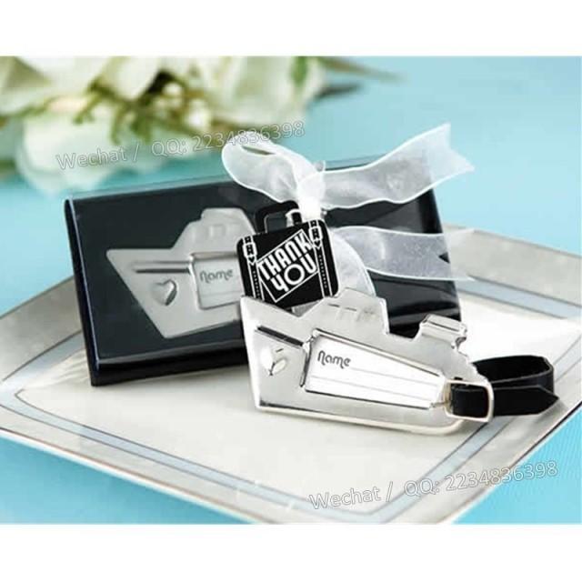 wedding photo - Beter Gifts®愛之船行李牌WJ113父親節禮物實用送爸爸旅行箱吊牌Beter Gifts®單身派對用品