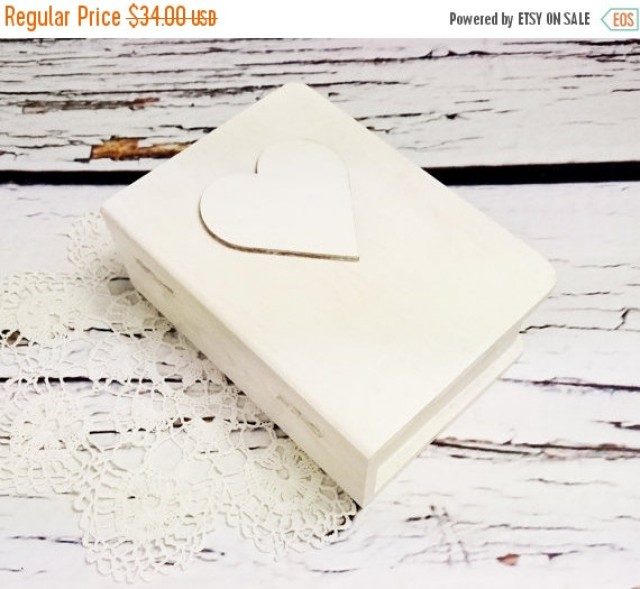 wedding photo - White wedding rings box/engagement ring box book shaped, wedding pillow rustic looking old vintage shabby chic elegant