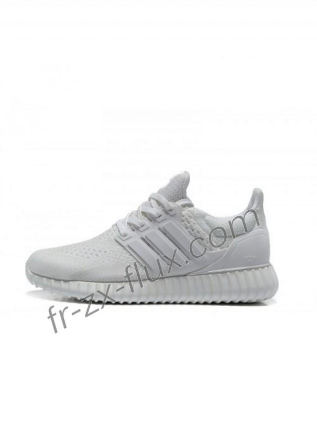 wedding photo - Femme Adidas Yeezy Ultra Boost Blanc Chaussures sortie France pas cher