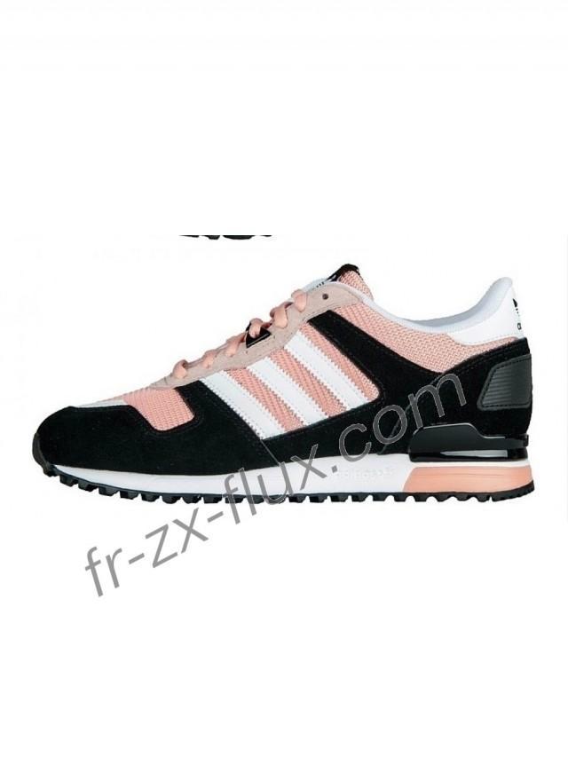 wedding photo - Réduction En Ligne - Femme Adidas Zx 700 Soft Pink/Noir/Blanc Chaussures