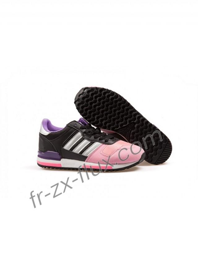 wedding photo - Commandez Femme Adidas Zx 700 Cuir Rose Clair/Rosy/Noir/Blanc/Violet Chaussures