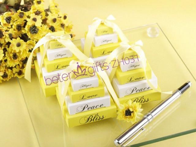 wedding photo - Beter Gifts®  夏日小清新檸檬黃便箋紙 派對小禮物ZH031生日慶生 結婚答謝禮品