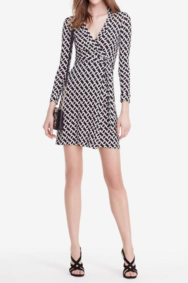 wedding photo - DVF New Jeanne Two Silk Jersey Wrap Dress