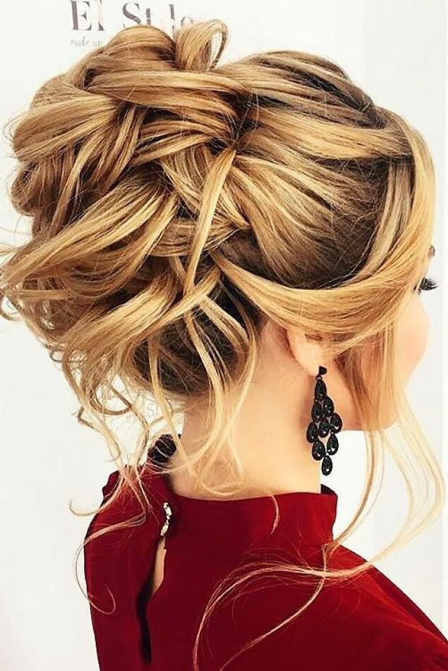 Модная причёска на длинные волосы
