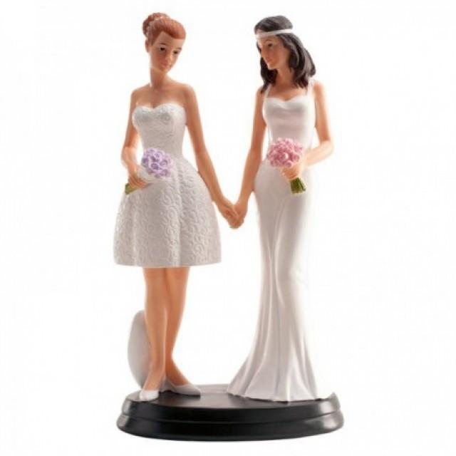 "wedding photo - Figura Pastel ""Chicas"""
