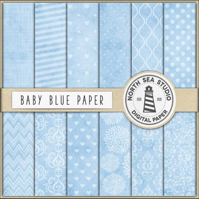 wedding photo - Baby Blue Scrapbooking Paper, Light Blue Digital Paper, Blue Printable Paper, Baby Blue Backgrounds, Coupon Code: BUY5FOR8