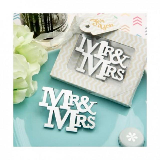 wedding photo - ABREBOTELLAS MR & MRS EN CAJA REGALO