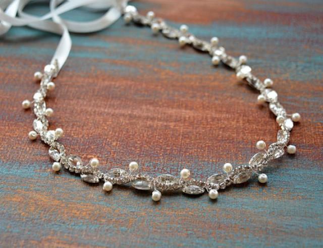 wedding photo - Wedding belt, Bridal belt, Pearl belt, Rhinestone belt, Sash Belt, Wedding Dress Belt, Wedding Dress Sash