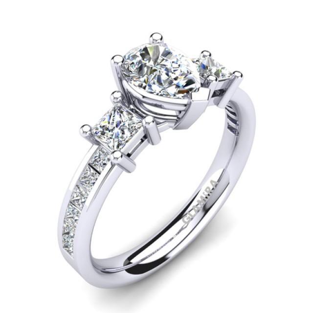 wedding photo - Buy Stunning 950 Platinum Engagement Rings at Best Price