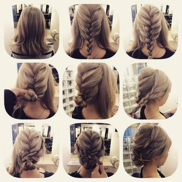 Интересные и легкие прически на длинные волосы