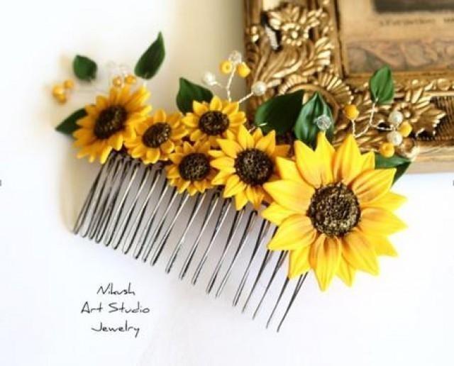 wedding photo - Sunflower Wedding Theme from Nikush Jewelry #2495955