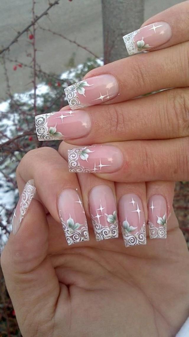 Tips Manicura De Novia//Wedding Bridal Nails