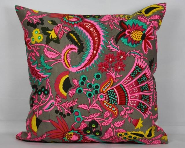 Ethnic Pillows Floral Pillow Cover 20x20 Pillow Cover 18x18 Pillow Cover Decorative Throw ...