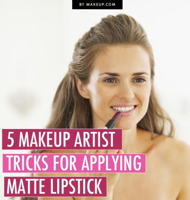 5 Makeup Artist Tricks for Wearing Matte Lipstick .Makeup.com