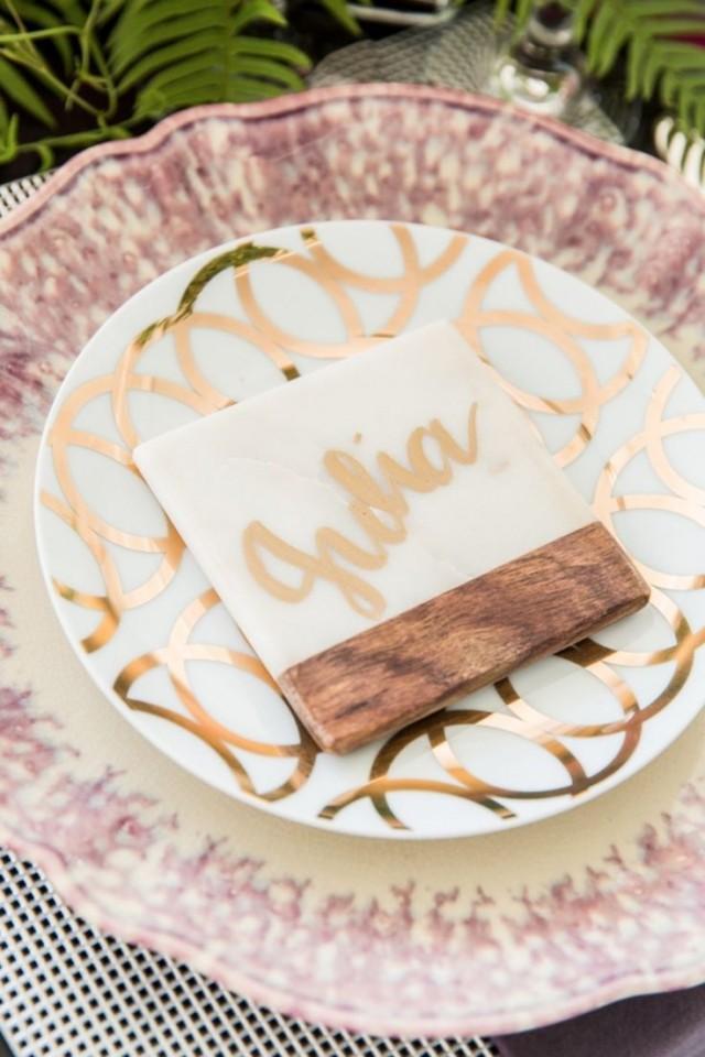 Edgy Glam Wedding Inspiration