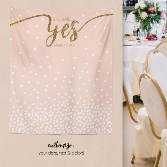 Wedding Backdrop, Engagement Backdrop, Bridal Shower Decorations, Bridal Shower Backdrop, Engagement Party Decorations/ W-G23-TP MAR1 AA3