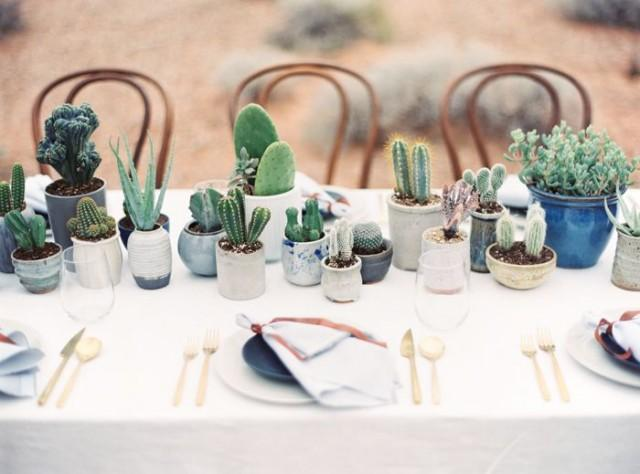 Desert And Indigo Inspired Wedding
