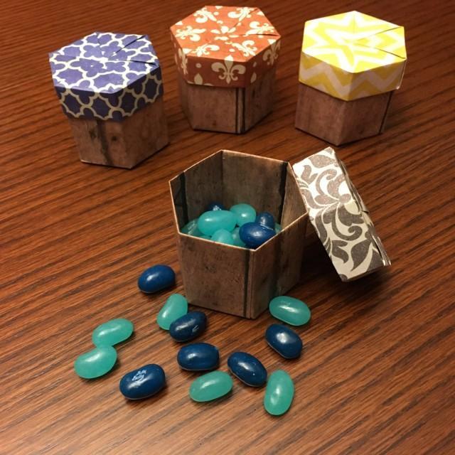 Origami Wedding Favor Box