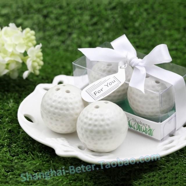 wedding photo - Beter Gifts® Golf Ball調味瓶單身交換小禮物胡椒瓶TC030創意商務禮品婚禮回贈