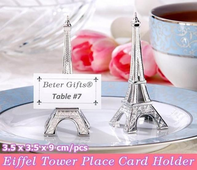 wedding photo - Beter Gifts® Valentine's Day Party Place Car Holders WJ029 Décoration