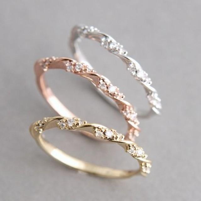 Simple Engagement Rings Weddbook