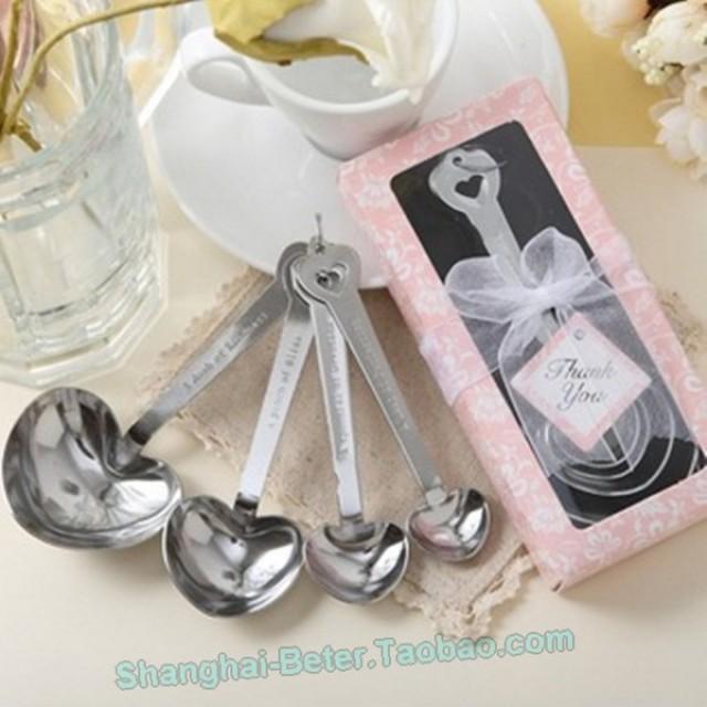 wedding photo - Beter Gifts® 甜蜜情侶量勺 情侶咖啡勺粉色白羊座生日禮物BETER-WJ005/B滿月回禮禮物  #婚禮小物 #結婚小物 #生日禮物 #單身派對 #pinkwedding