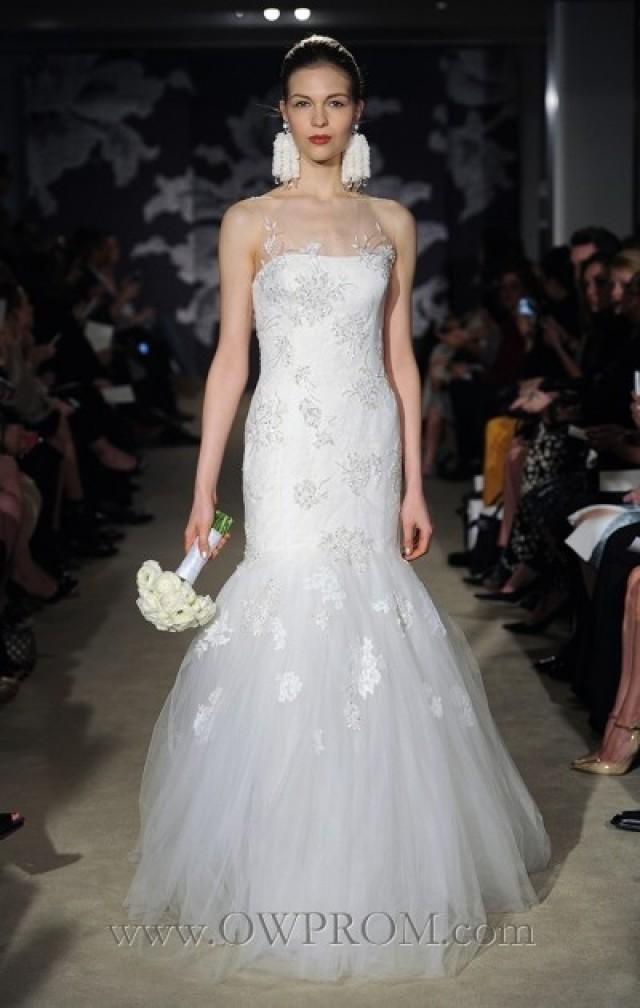 wedding photo - Carolina Herrera Claribelle Wedding Dresses - OWPROM.com